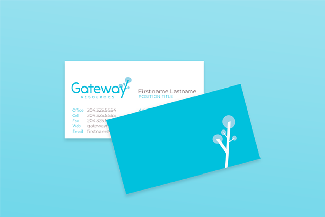 gateway resources business cards