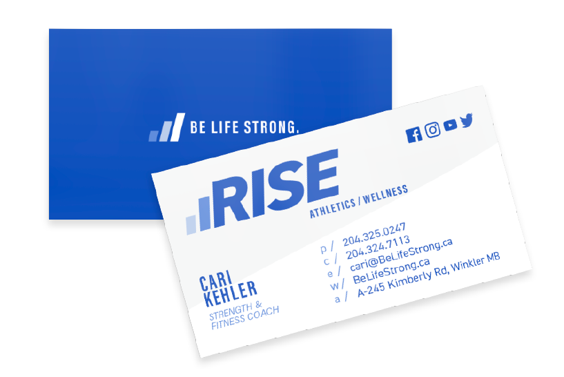 rise business cards