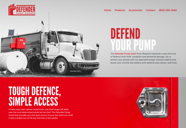 defender pump guard screenshot